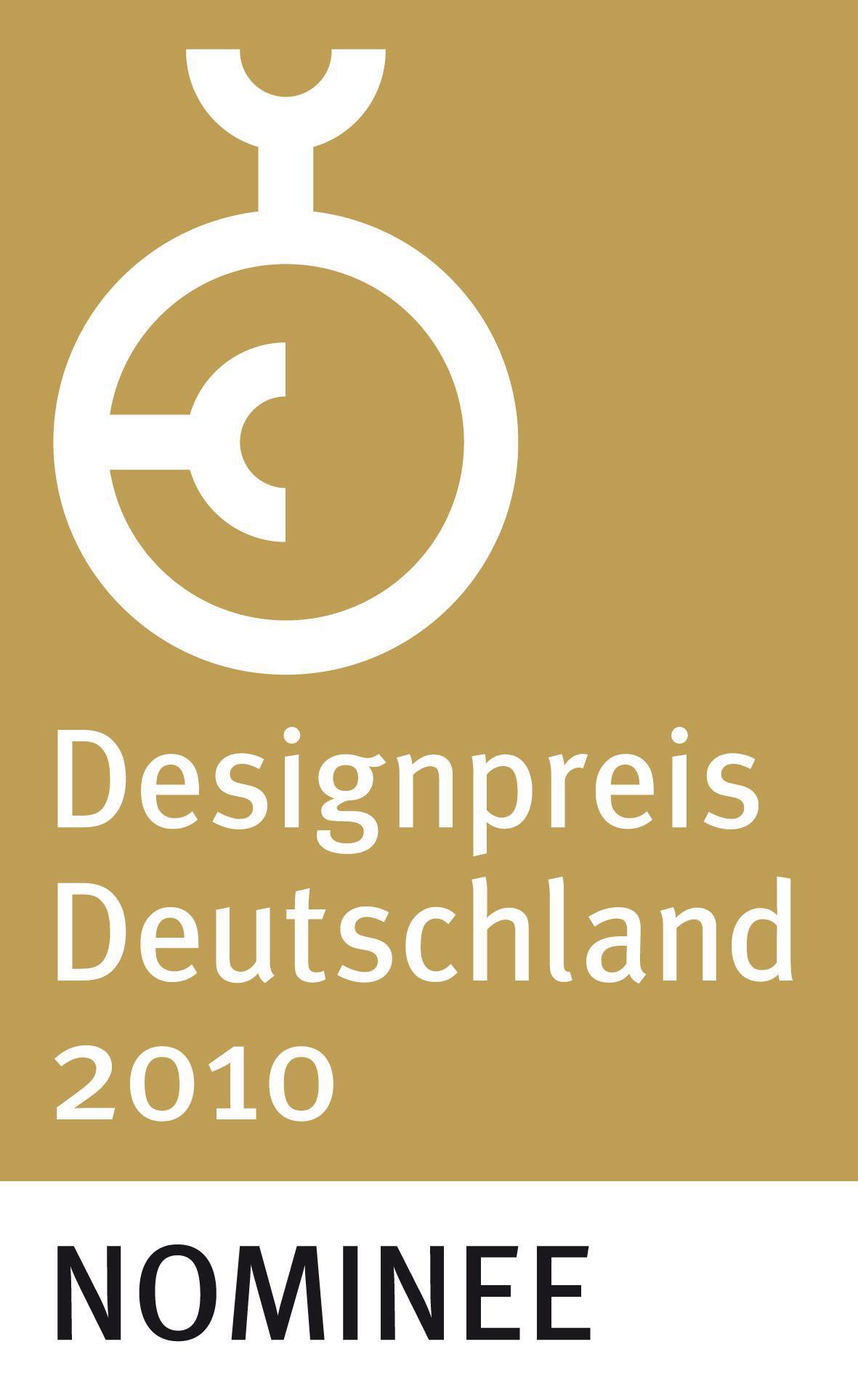 Designpreis Deutschland 2010 Nominee (DE)