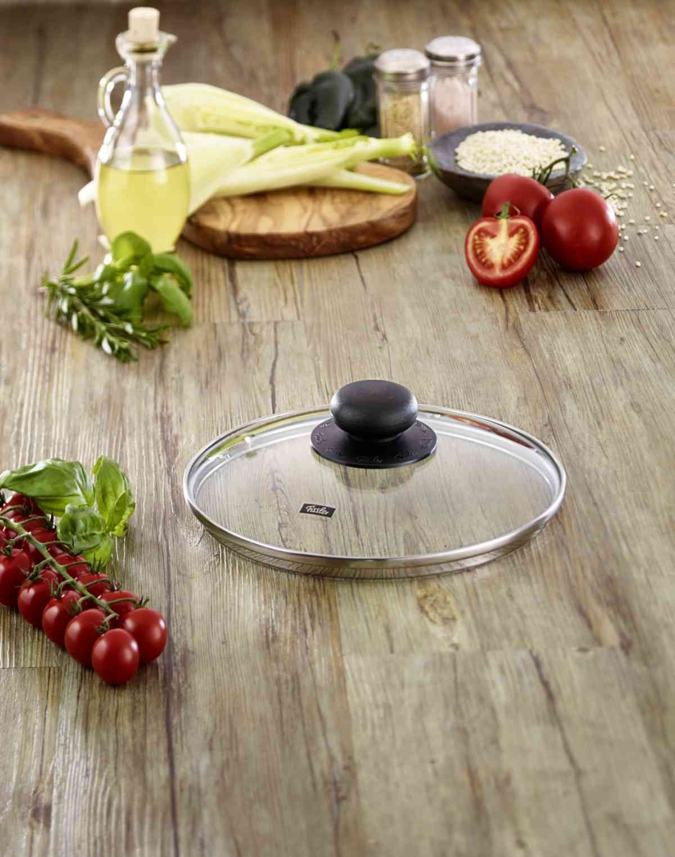 Schnellkochtopf-Zubehör Glasdeckel 22 cm