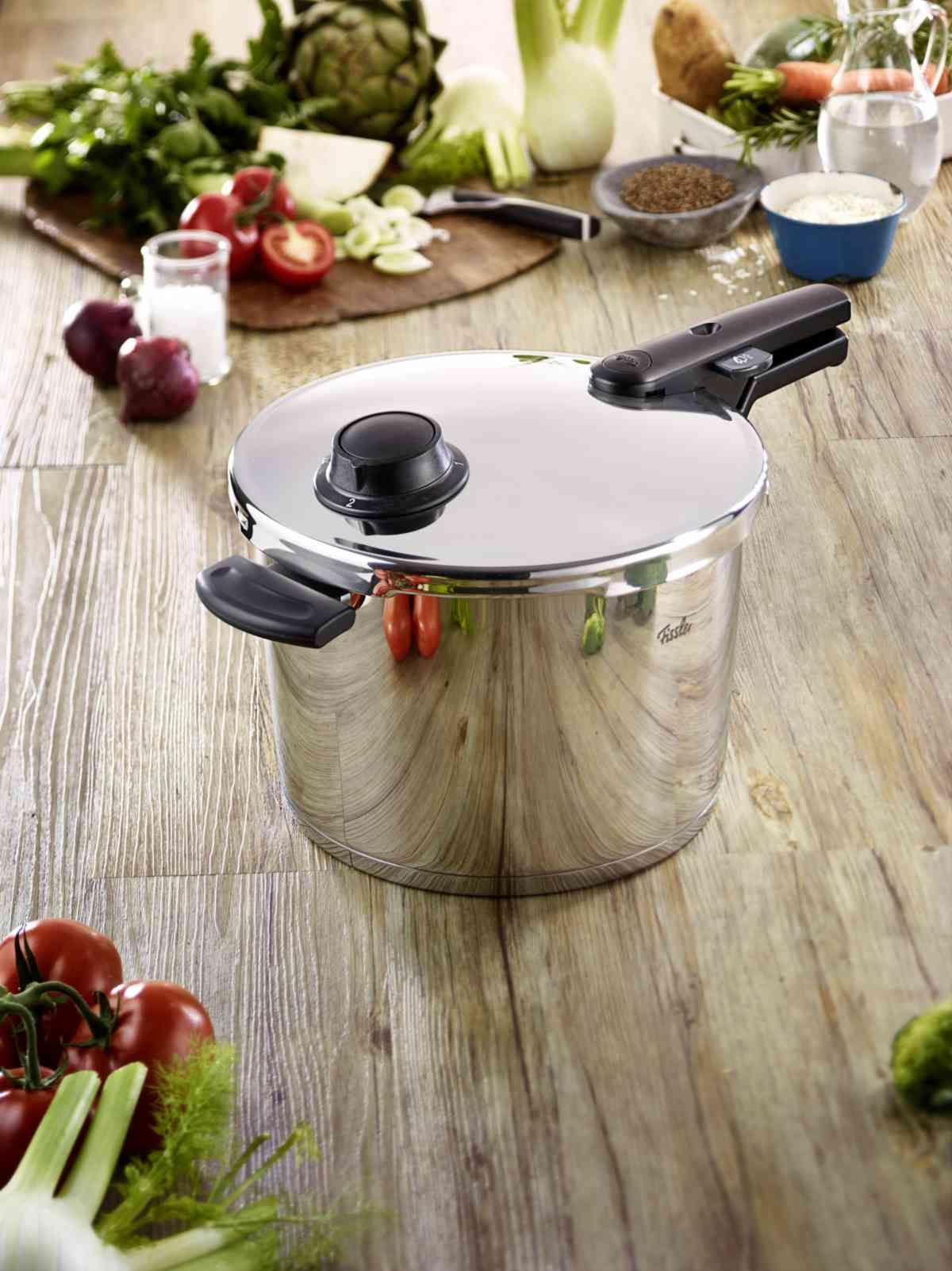 vitavit® comfort Schnellkochtopf 26 cm / 8 Liter ohne Einsatz