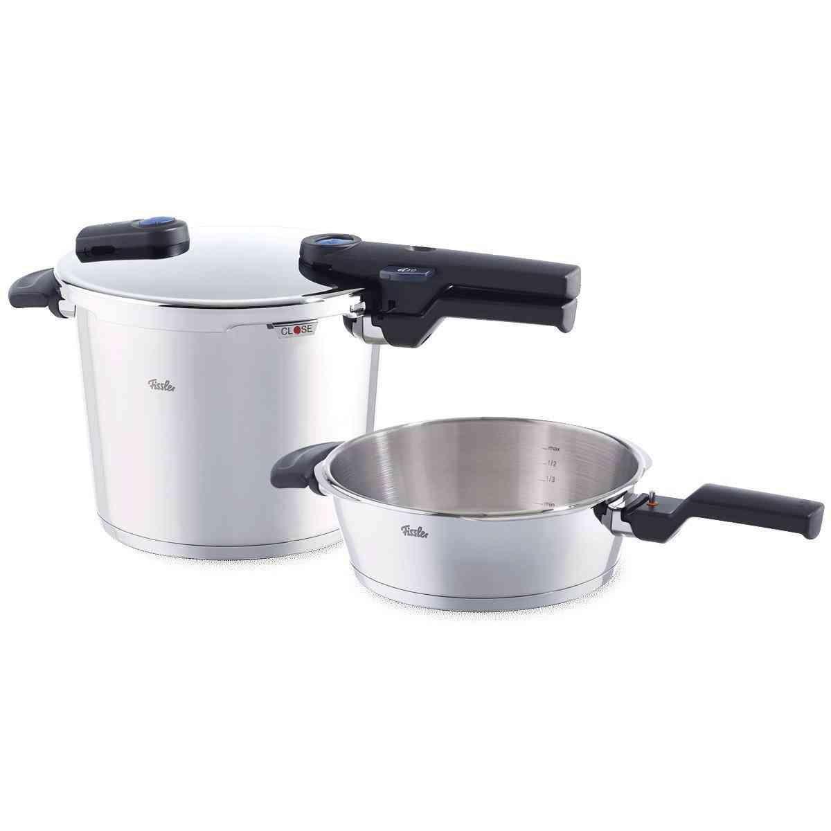 vitaquick pressure cooker 2-piece set 22 cm / 6,0 + 2,5 ltr.