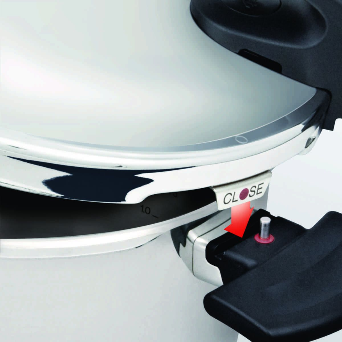 vitavit® edition design Schnellkochtopf mit Einsatzgarnitur 26 cm / 10 Liter
