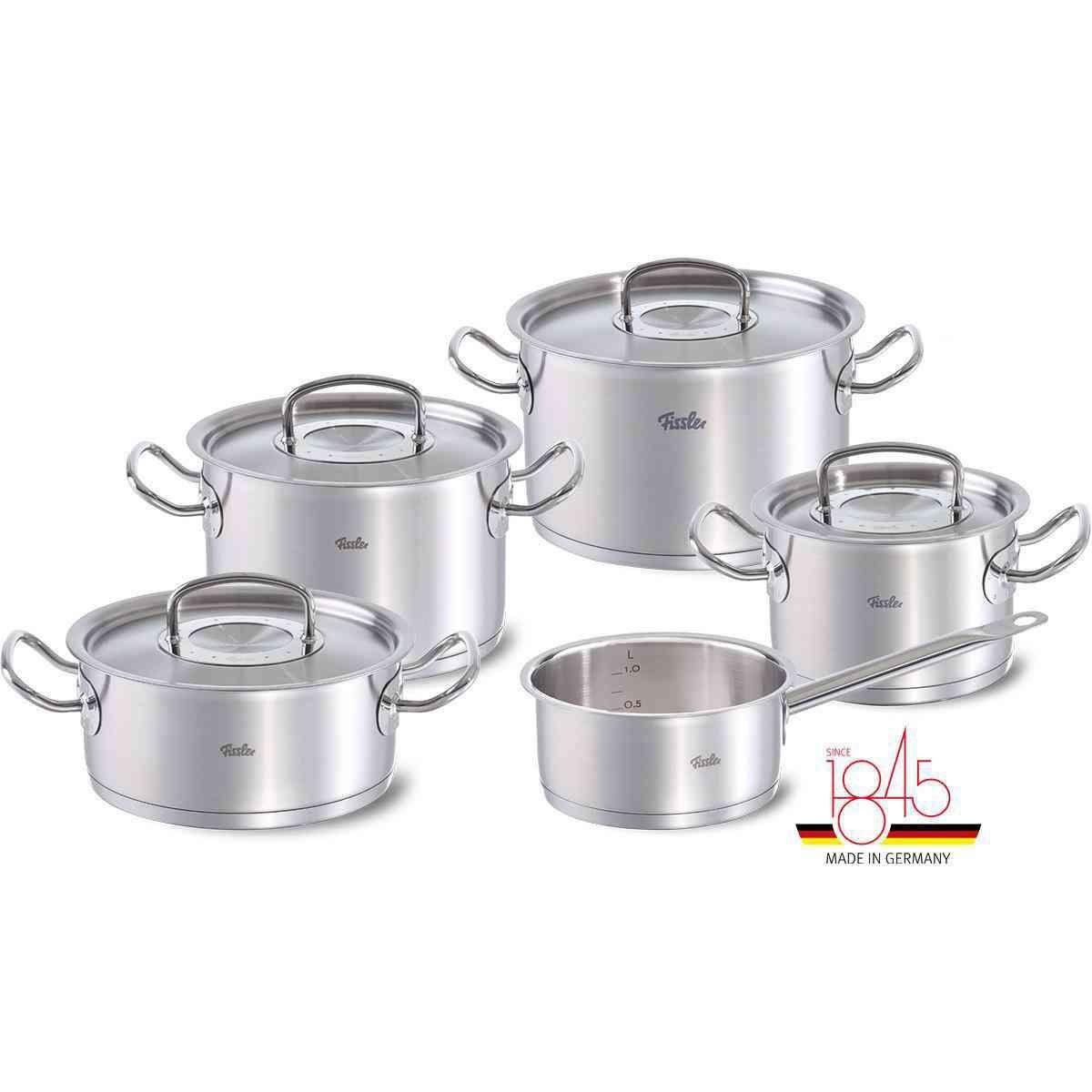 original-profi collection® 9-Piece Stainless Steel Cookware Set