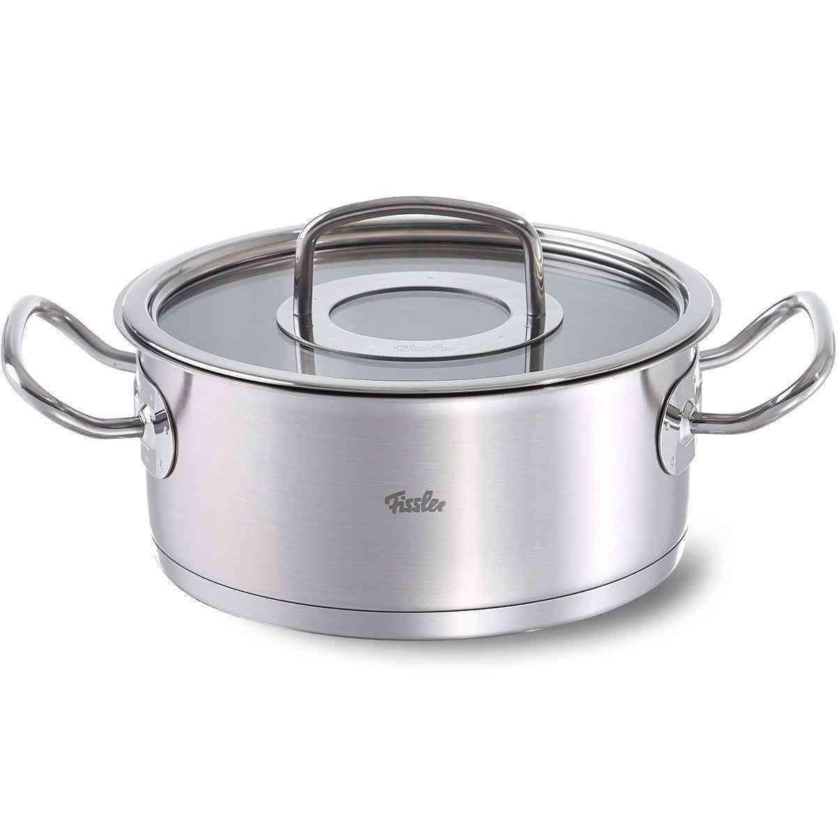 original-profi collection casserole with glass lid 24 cm