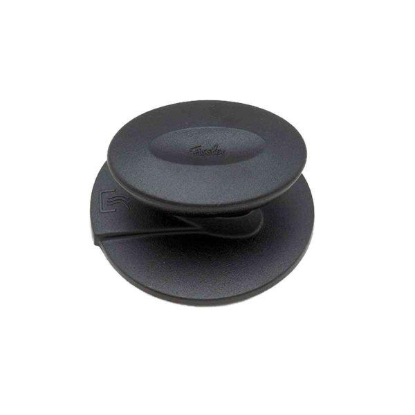 coronal lid knob for metal lid