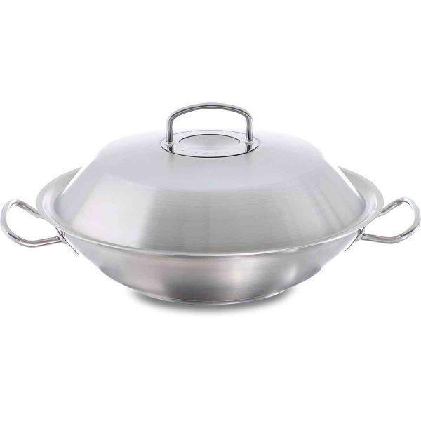 original-profi collection wok with metal lid