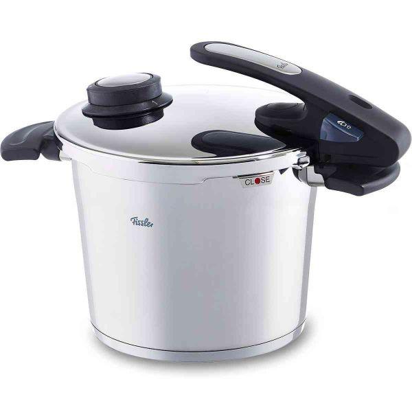 vitavit® edition design Schnellkochtopf mit Einsatzgarnitur 22 cm / 6 Liter