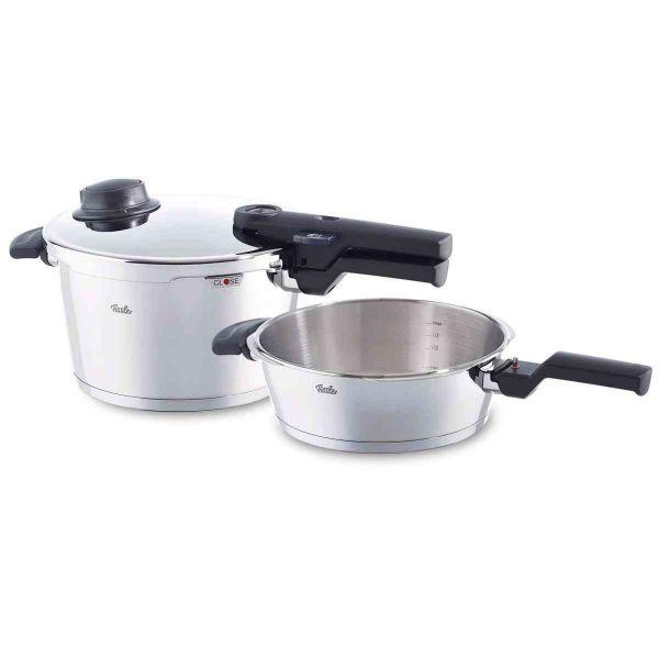 vitavit® comfort Schnellkochtopf-Set 2-tlg. 22 cm / 4,5 + 2,5 Liter