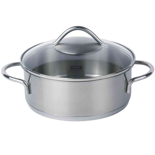 vienna casserole with glass lid 20 cm
