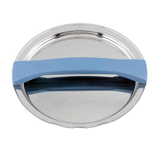 magic line Metalldeckel blau für Topf mit 24 cm Innendurchmesser
