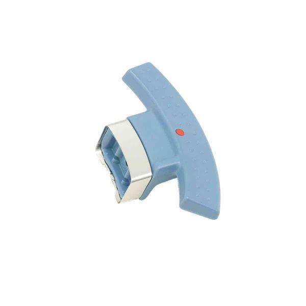 magic comfort basic Topfgriff Schnellbratpfanne mit Anschlag blau 22 cm