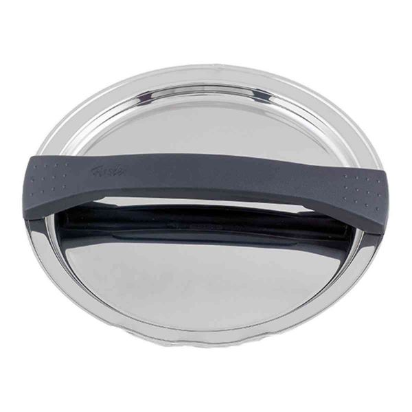 magic line Metalldeckel schwarz für Topf mit 16 cm Innendurchmesser