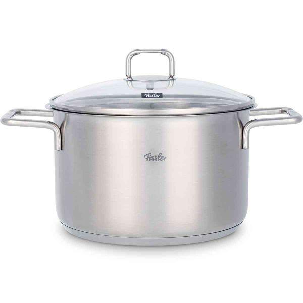 hamburg stew pot with glass lid