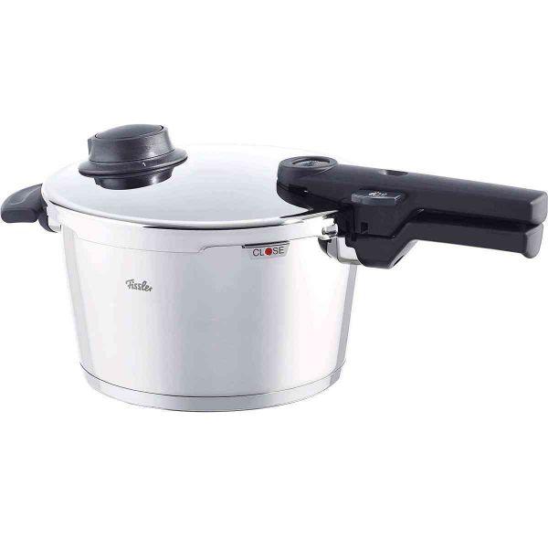 vitavit® comfort Schnellkochtopf 22 cm / 4,5 Liter mit Einsatzgarnitur