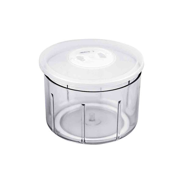finecut container with storage lid