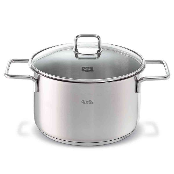 lübeck stew pot with glass lid