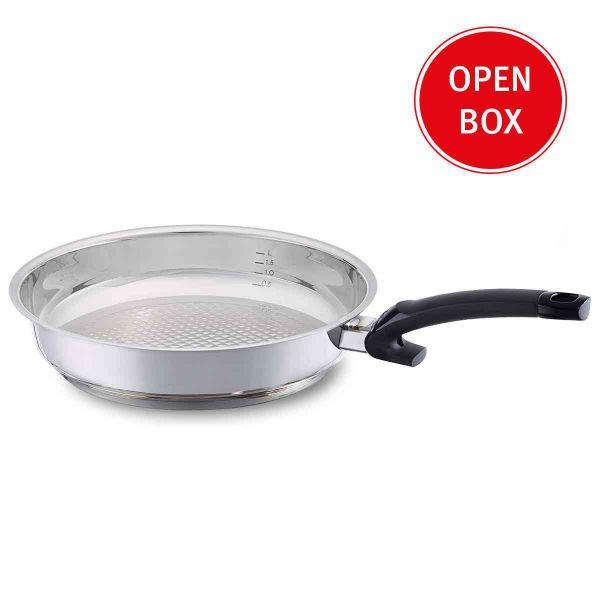 Open Box - crispy steelux comfort Frying Pan, 9.5 Inch