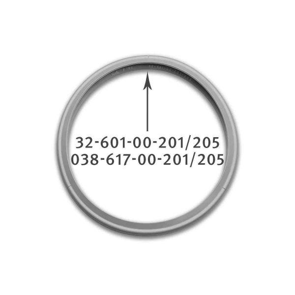 rubber gasket 18 cm for pressure cooker 038-617-00-205/0