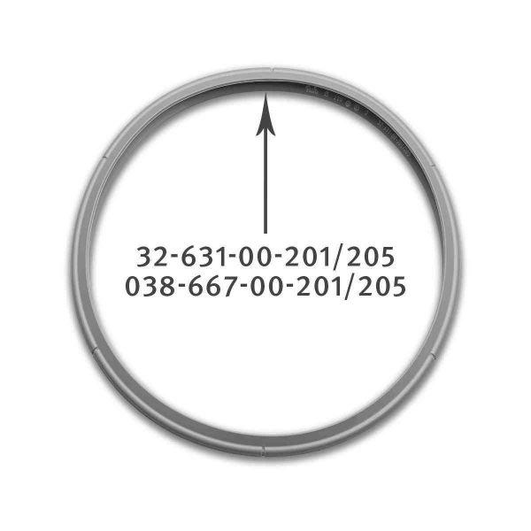 Dichtungsring 22 cm für Schnellkochtöpfe 038-667-00-205/0