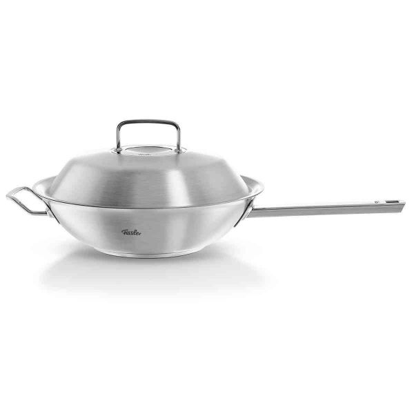 """pure-profi collection Wok with Lid, 11.8"""""""