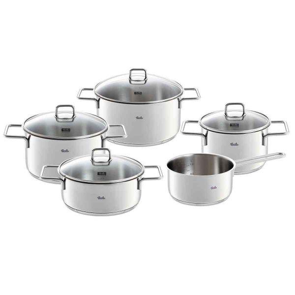 Open Box - munich 9-Piece Stainless Steel Cookware Set