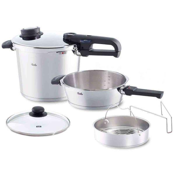 vitavit® premium 6.3Qt Pressure Cooker and 2.7Qt Pressure Skillet Set