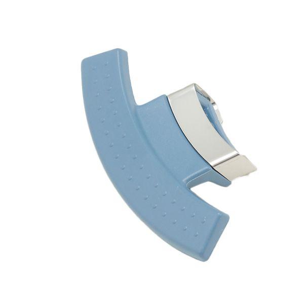 magic line Seitengriff mit Flammschutz blau für Topf mit 24 cm Innendurchmesser