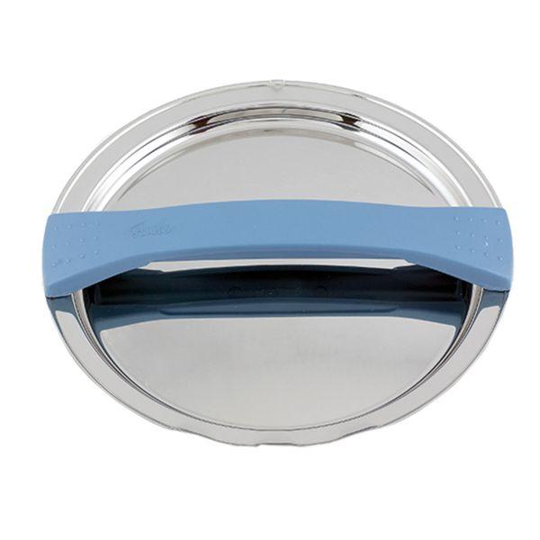 magic line Metalldeckel blau für Topf mit 16 cm Innendurchmesser