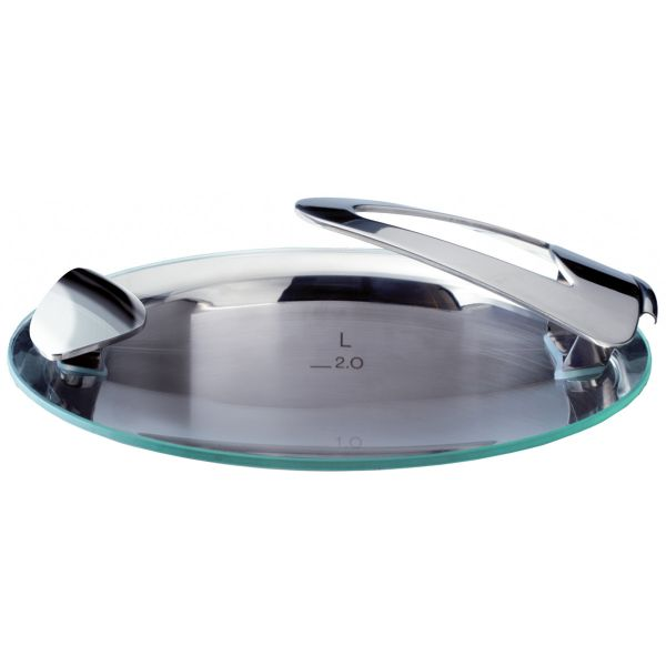 solea glass lid for pot with 24 cm