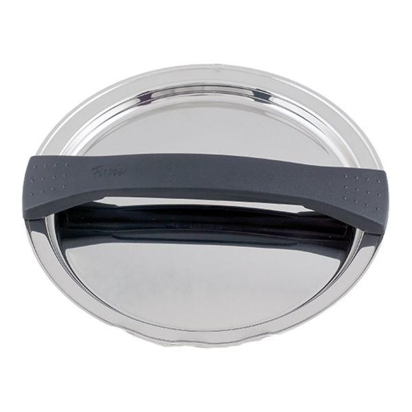 magic line Metalldeckel schwarz für Topf mit 20 cm Innendurchmesser