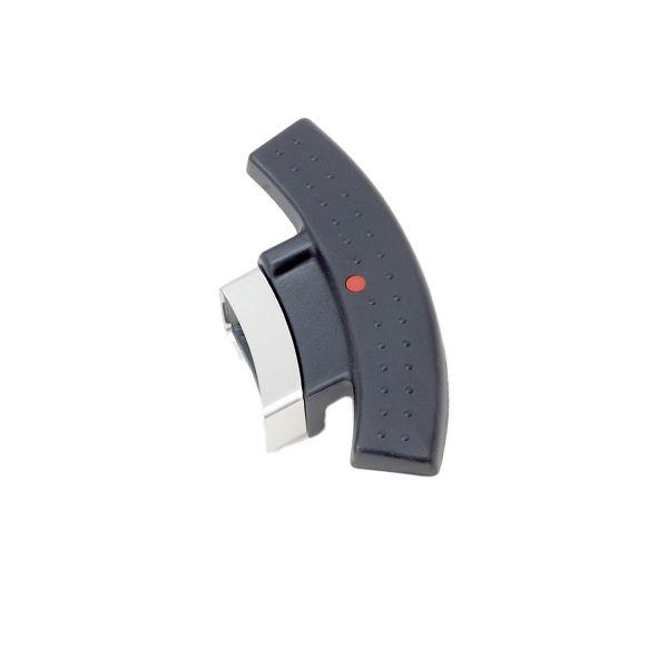 magic comfort basic Topfgriff für Schnellbratpfanne mit Anschlag schwarz 22 cm