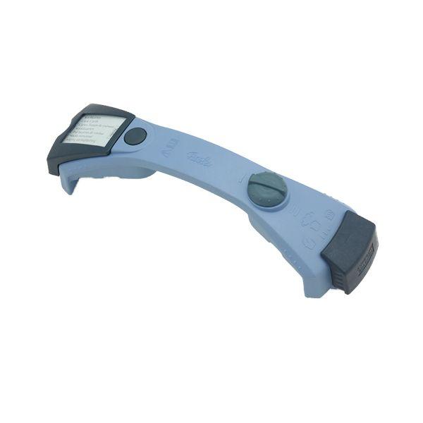magic comfort basic Deckelbügel mit Infobox ohne Deckelschraube blau 22 cm