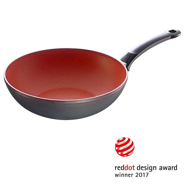°SensoRed wok pan 28 cm