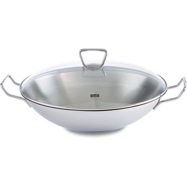 kunming wok with glass lid 36 cm