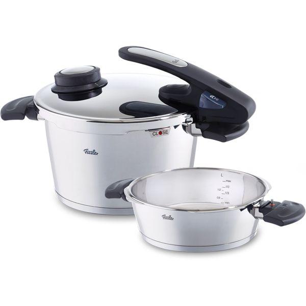vitavit edition digital pressure cooker with insert 22 cm / 4,5 + 2,5 ltr.