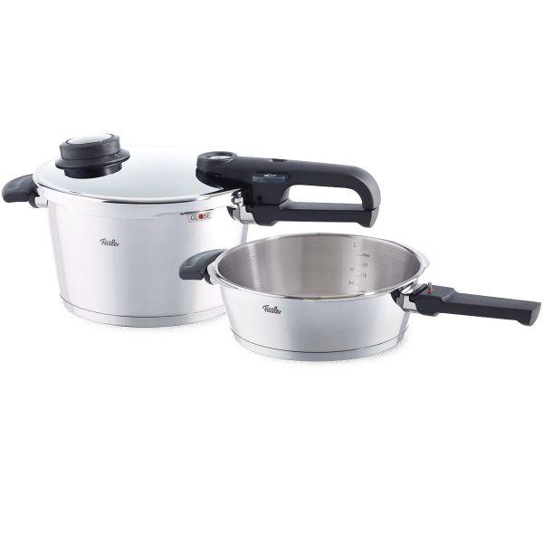 vitavit premium pressure cooker 2-piece set 22 cm / 4,5 + 2,5 ltr.