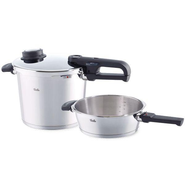 vitavit premium pressure cooker 2-piece set 22 cm / 6,0 + 2,5 ltr.