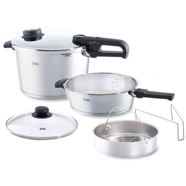 vitavit premium 6-Piece Set: 8.5qt / 4.2qt Pressure Cookers